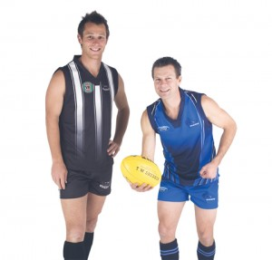 Sublimated Aussie Rules Jerseys