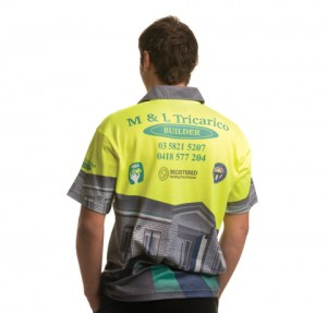Sublimated Hi Viz Builders Work Wear