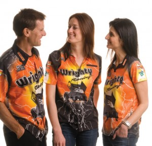 Sublimated Motor Sports Polo and shirts
