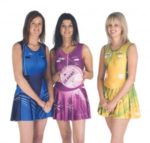 Sublimated Netball uniforms