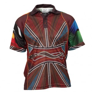Sublimated Indigenous polo Style 23886