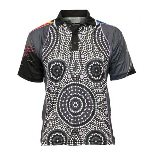 Sublimated Indigenous polo Style 23887