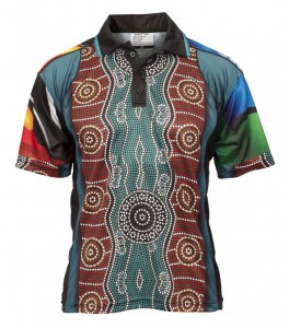 Sublimated Aboriginal and Torres strait Islander Polo Style 23889